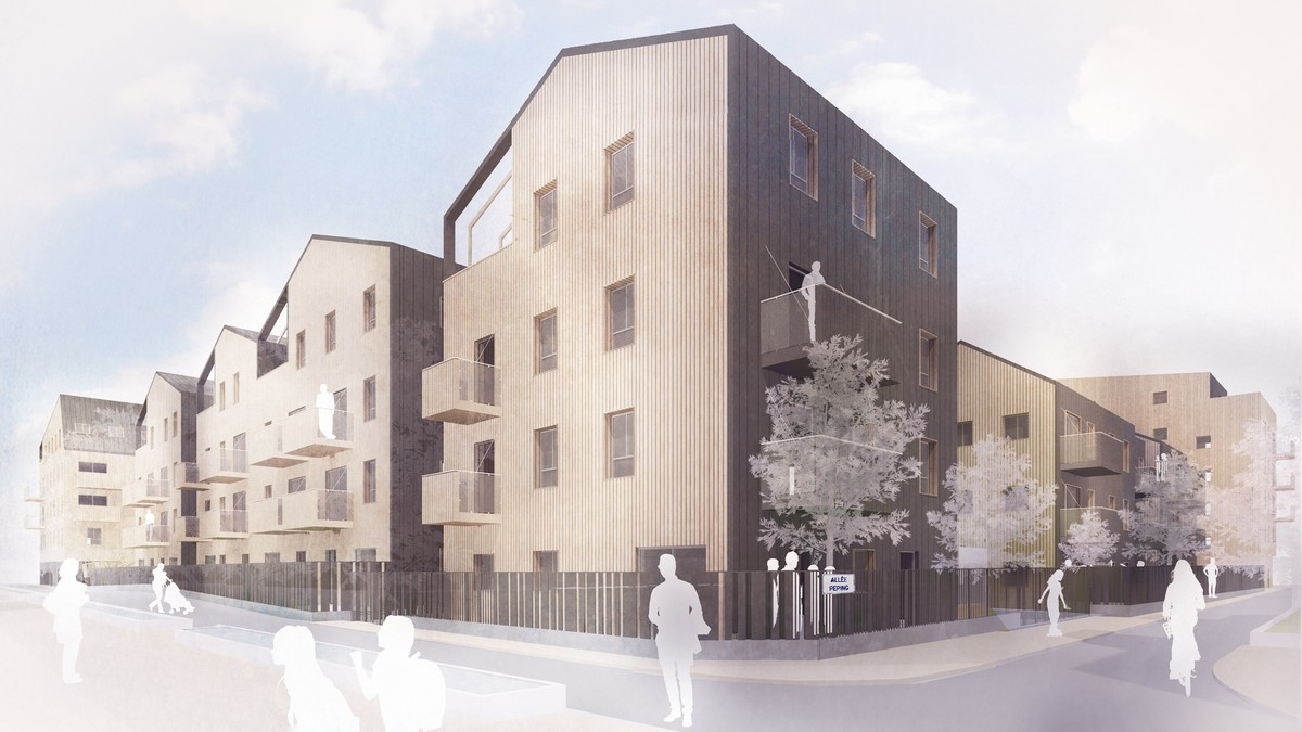 Appointed for scheme in Aubervilliers, France 1