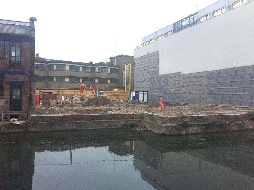 Demolition complete at Orsman Road 1