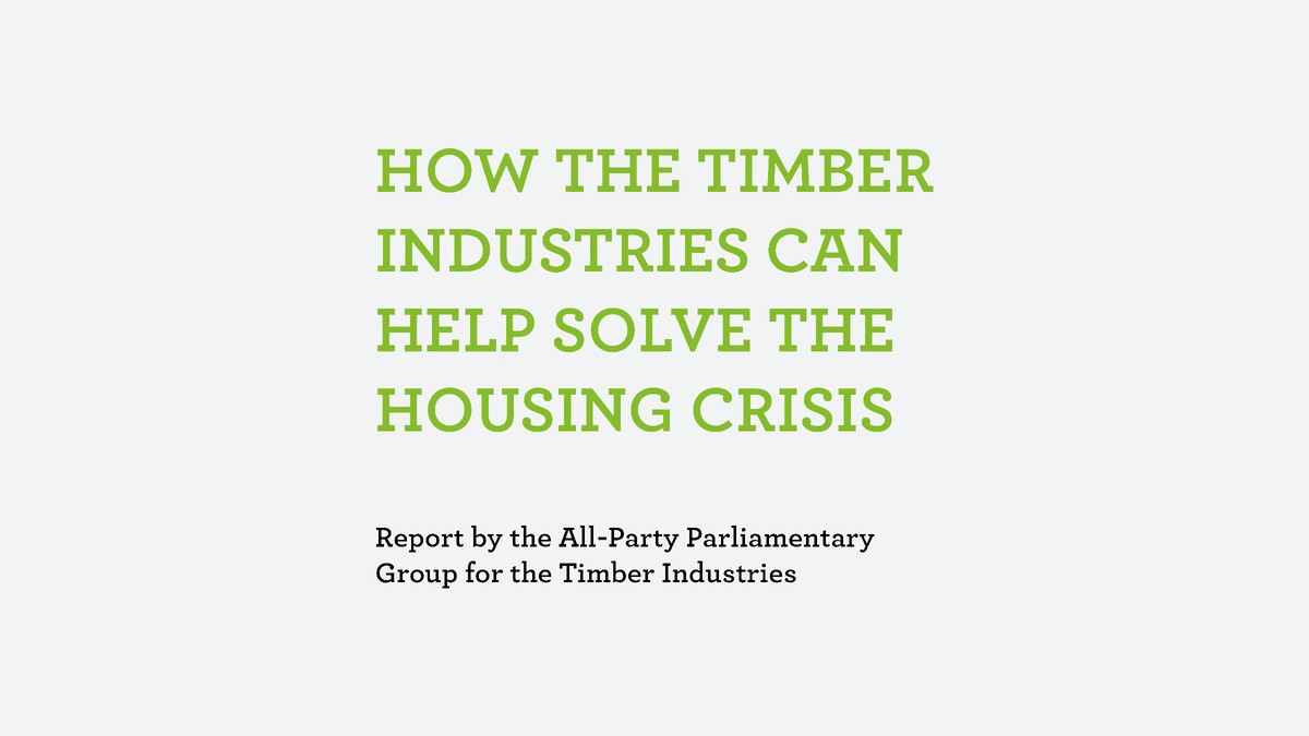 Timber industries and the housing crisis 1