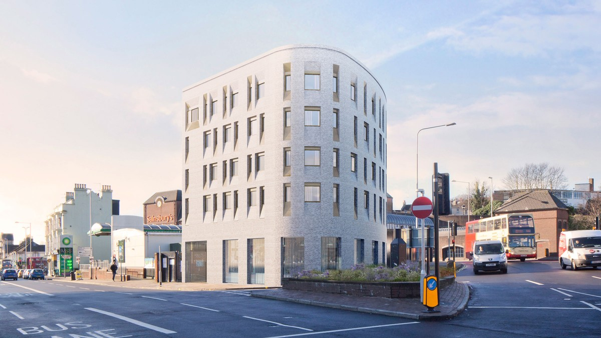 Lewes Road starts on site | Waugh Thistleton Architects