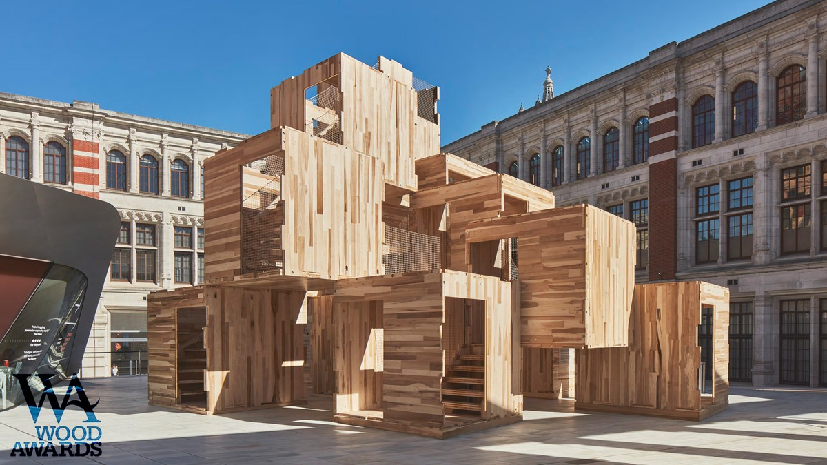 MultiPly shortlisted in Wood Awards 1
