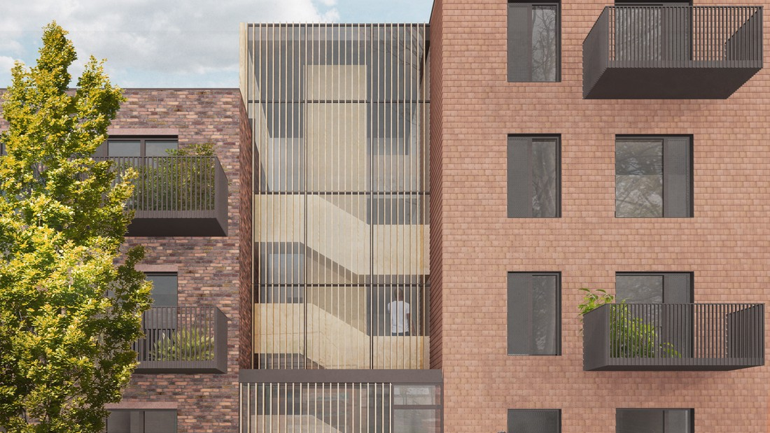 Planning approval for modular scheme in Lewisham