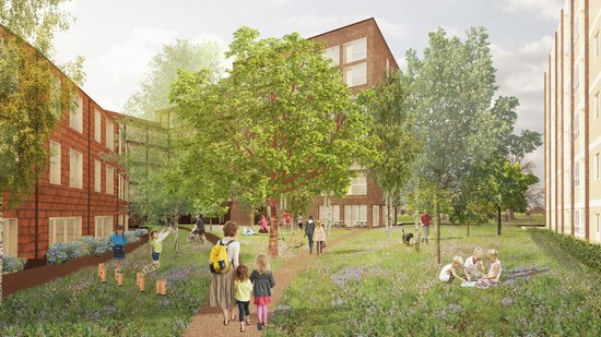 Planning permission granted for Kennaway Estate