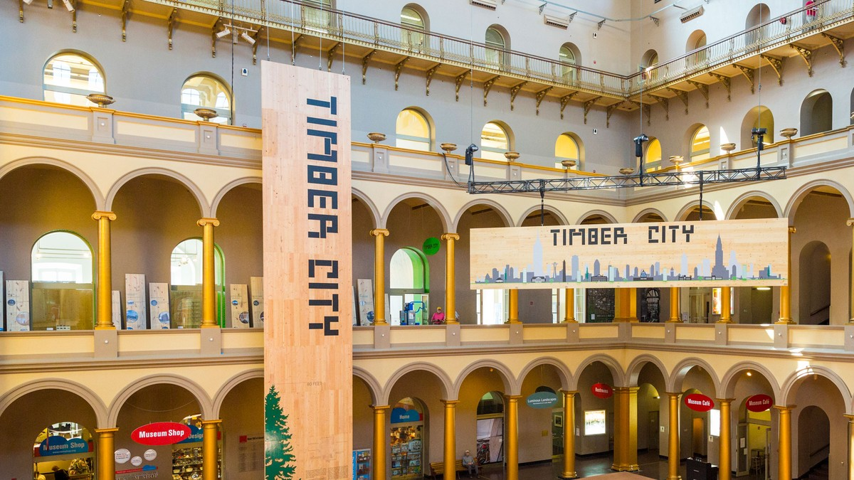 Timber City exhibition opens in Washington 1