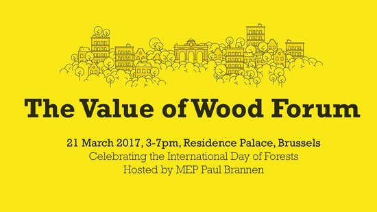 The Value of Wood Forum Brussels