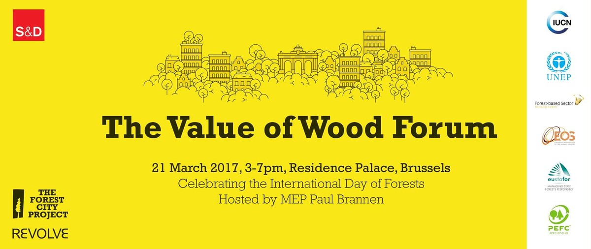 The Value of Wood Forum Brussels 1