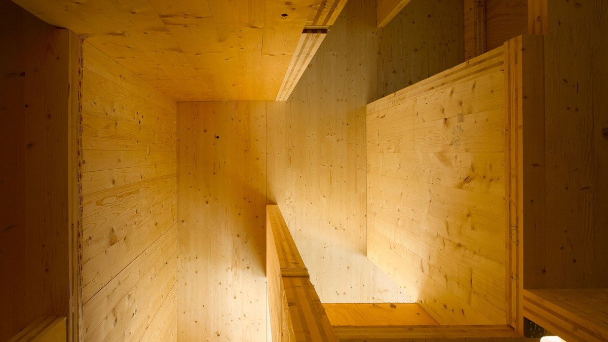Vertical living in timber 1