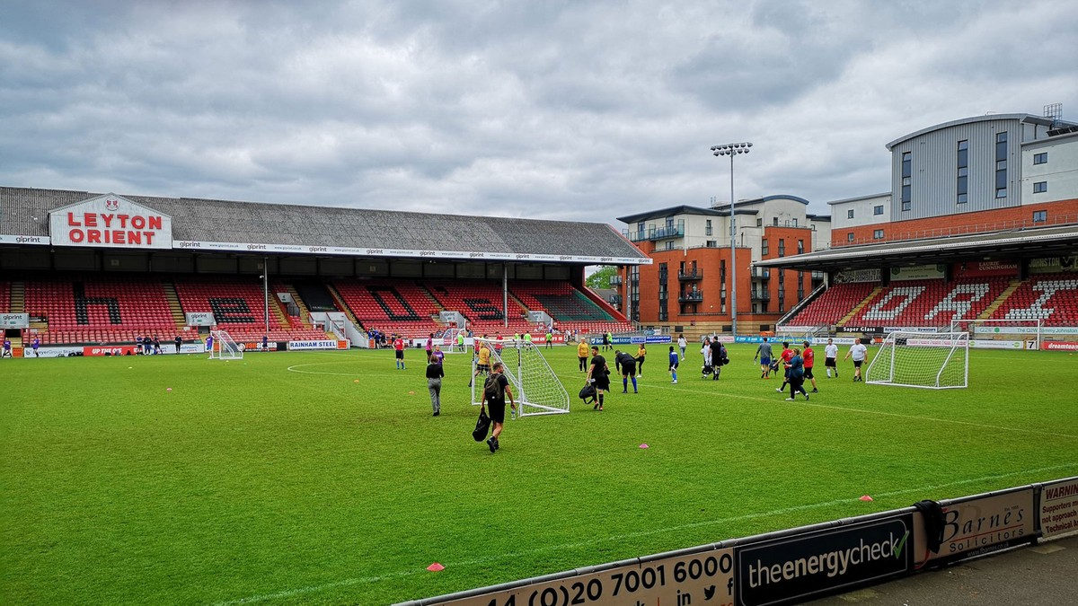 Swan's Charity football tournament 1